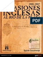 Invasiones Inglesas Documentos