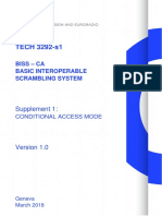 BISS – CA Basic Interoperable Scrambling System