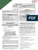 Ley que autoriza la aprobación de dietas para los Vocales del Tribunal de Fiscalización Laboral de la Superintendencia Nacional de Fiscalización Laboral