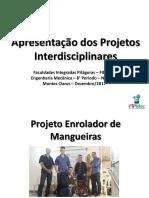 Modelo de Apresentação de Projeto Interdisciplinar - 2017 (1)