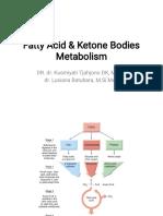 Fatty Acid Metabolism