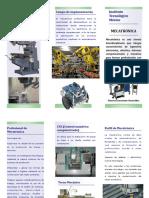 Brochure Mecatronica