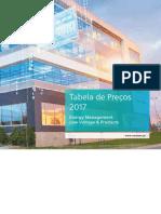[Siemens] Tabela Preços Distrib Energia Baixa Tensão 2017