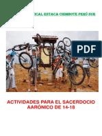 Afiche Actividades Para El Sacerdocio Aarónico de 14-18