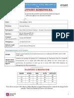 Rapport Bimensuel