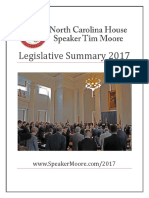 House Legislative Summary - 2017