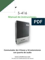 Conmutador Multizone 4 Lineas 16 Ext Con Operadora Auto 127840