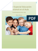 Dossier Especial Educación Emocional en El Aula