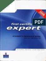 Expert first certificate