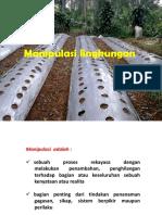 MANIPULASI LINGKUNGAN
