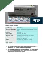 Contoh obat Antiemetik
