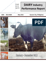 DAIRY Industry Performance Report - Jan - Dec 2015-1-1