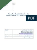 Dos Modelos de Inventario