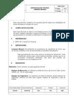 Cime Nt 016 Limpieza Manual