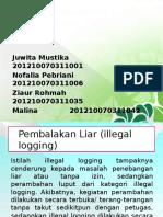 PPT Pembalakan liar (illegal logging).pptx