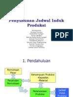 Penyusunan Jadwal Induk Produksi