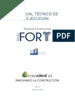 Casaideal Manual Tecnico Panel Forte