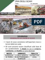 ingegneria degli scavi_introduzione