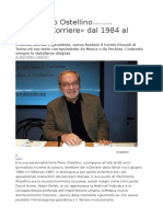 Addio a Piero Ostellino AVEVA 82 ANNI 10.03.2018