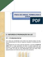 FÍSICA de ONDAS - AULA 05 - Natureza e Propagação Da Luz II
