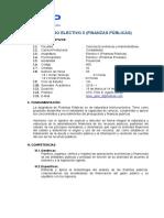Silabo - Finanzas Publicas - Eap. Contabilidad - 2018-i