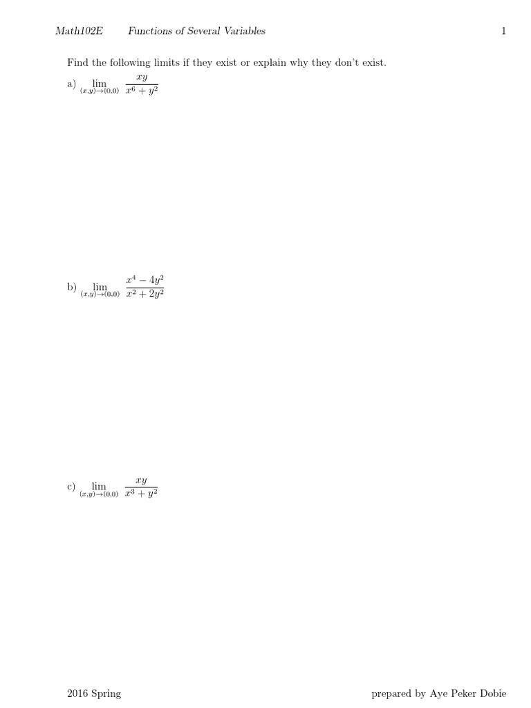 multivariable functions pdf | Maxima And Minima | Derivative
