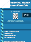 Geotechnical Reuse of Waste Materialnew