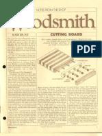 Woodsmith Notes 001 - Jan 1979 - Trestle Table