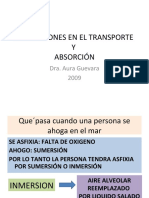 Alteraciones en El Transporte y Absorcion