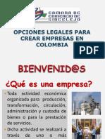 COMO CREAR EMPRESA EN COLOMBIA CAMARA DE COMERCIO SINCELEJO.ppt