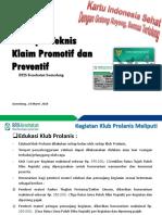 Promotiv Dan Preventif Puru Khatulistiwa 19 Maret 2018