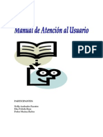 Manual de Atencion al Usuario - Grupo 87