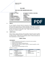 Silabo - Geografía y Desarrollo Nacional