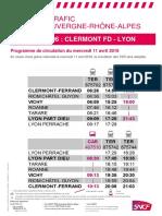 Clermont Vichy Lyon