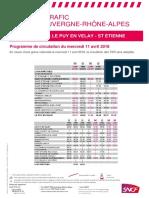 Le Puy - Saint-Etienne