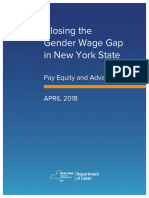 Pay Equity Advancement Wage Gap