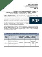 Clasificacion y Caracterizacion de Residuos Solidos Domesticos.