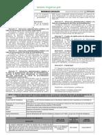 Tipifican Infracciones Administrativas y Sanciones Relacionadas Con Los Instrumentos de Gestión Ambiental
