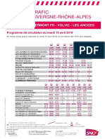Clermont - Volvic - Les Ancizes - Saint-Eloy - Montlucon