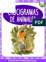 Crucigramas Animales