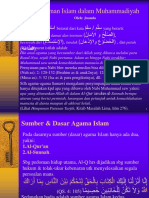 Pemahaman Islam Dalam Muhammadiyah