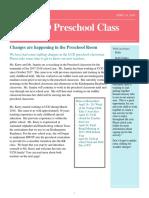 april preschool newsletter