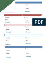 Plantilla Tarjeta de Presentacion Con Mapa Word