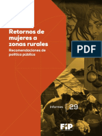 Retornos Mujeres - FIP 2018
