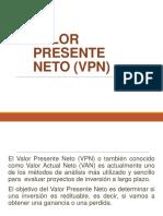 Valor Presente Neto VPN