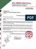 #ANF Conozca el pliego petitorio de la Central Obrera Boliviana (#COB) para la presente gestión.