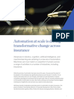 Automation at Scale is Driving Transformative Change Across Insurance
