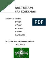 Proposral Tentang Kerajinan Korek Gas