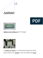 Sabão – Wikipédia, A Enciclopédia Livre