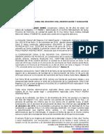 Denuncia Registro Civil Diego Andrade-Paula Andrade